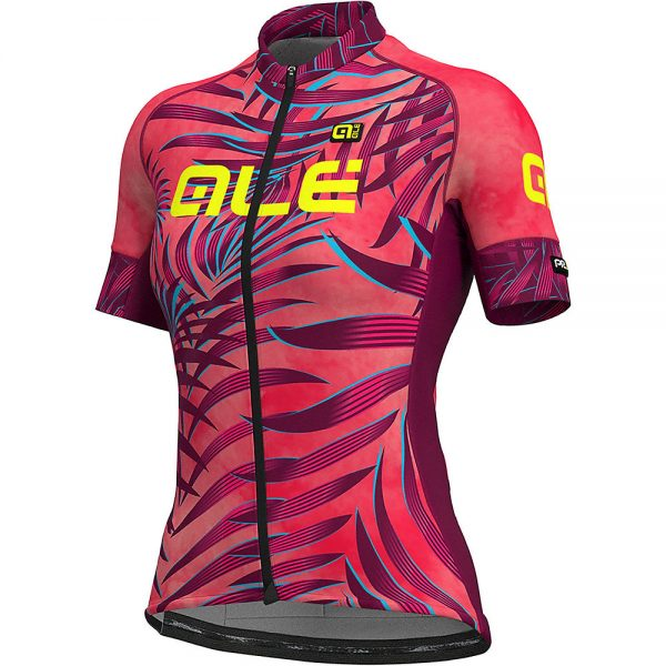 Alé Women's Graphics PRR MC Jersey - S - Gerbera-Red, Gerbera-Red