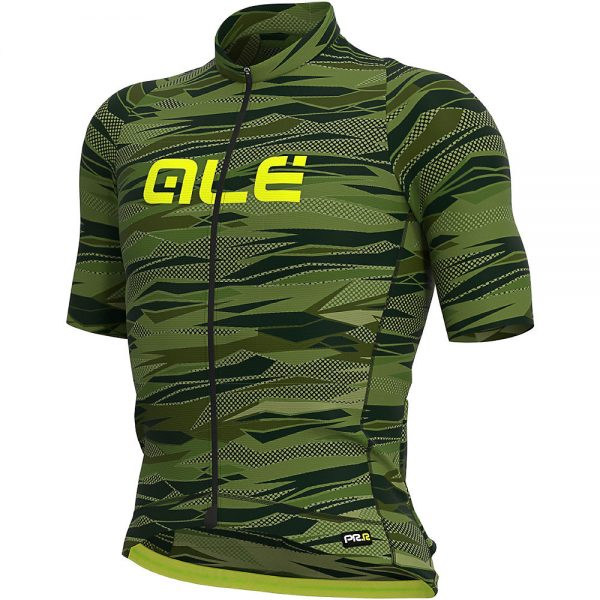 Alé Graphics PRR Rock Jersey - XL - Green-Fluro Yellow, Green-Fluro Yellow
