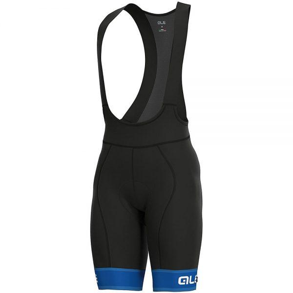Alé Graphics PRR Sella Bib Shorts - XL - Blue-White, Blue-White
