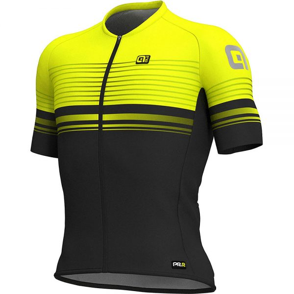 Alé Graphics PRR MC Slide Jersey - XXL - Black-Fluro Yellow, Black-Fluro Yellow
