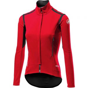 Castelli Women's Perfetto ROS Jersey (Limited Ed) - XS - Red, Red
