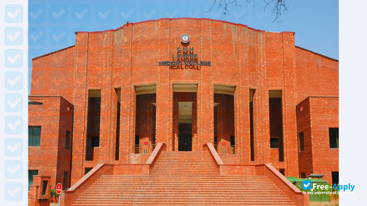 CMH Lahore Medical College - Free-Apply com