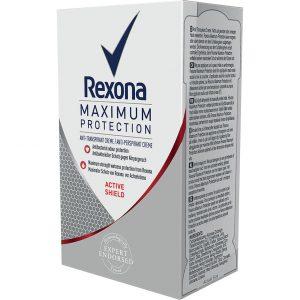 Maximum Protection Active Shield, 45 ml Rexona Deodorantit
