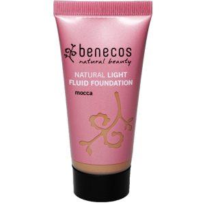 Natural Light Fluid Foundation, 30 ml Benecos Luonnonkosmetiikka