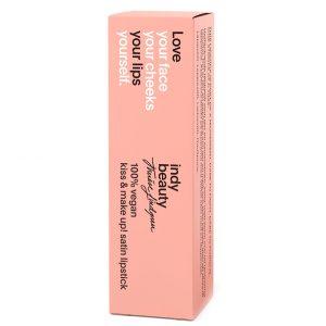 Kiss & Make up! Satin Lipstick, 4 ml Indy Beauty Huulipuna