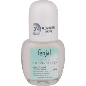 Fenjal Deo-Roll 0% Aluminiumsalt, 50 ml Fenjal Roll-on-deodorantit