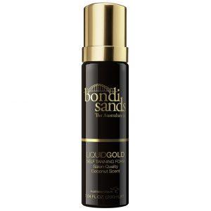 Liquid Gold Self Tanning Foam, 200 ml Bondi Sands Itseruskettavat