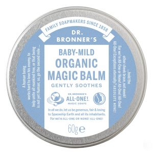 Organic Magic Balm Baby-Mild (Unscented), 57 g Dr. Bronner's Saippuat