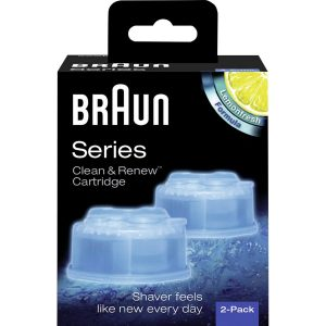 Clean & Renew Cartridge 2-Pack, Braun Tarvikkeet