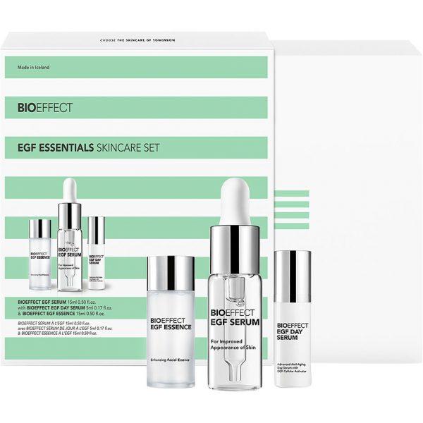 Egf Essentials Skin Care Set, Bioeffect Kasvoille
