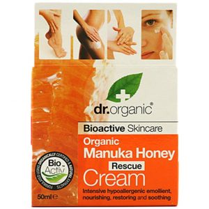 Dr. Organic Organic Manuka Honey Rescue Cream, 50 ml Dr Organic Vartalovoiteet