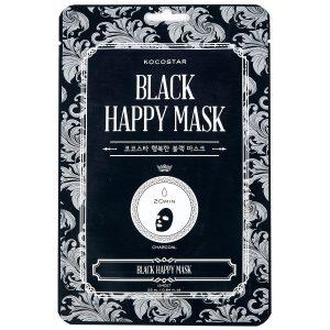 KOCOSTAR Black Happy Mask, 25 ml Kocostar Kasvonaamio