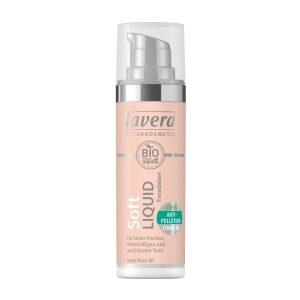 Soft Liquid Foundation, 30 ml Lavera Luonnonkosmetiikka
