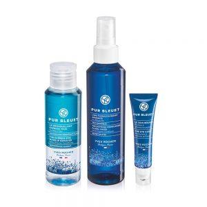Setti - Pur Bleuet (Silmämeikinpoistoaine, silmänympärysvoide, ka