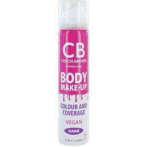 Body Make-Up Dark Colour & Coverage, 75 ml Cocoa Brown Itseruskettavat