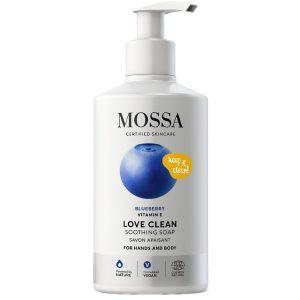 LOVE CLEAN Soothing Soap, 300 ml MOSSA Käsisaippua