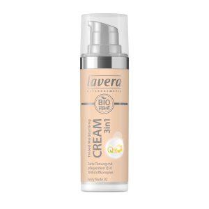 Tinted Moisturising Cream 3in1 Q10, 30 ml Lavera Luonnonkosmetiikka