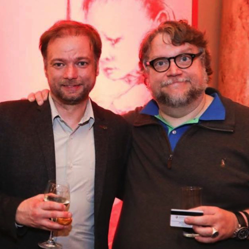 André Øvredal og Guillermo Del Toro.
