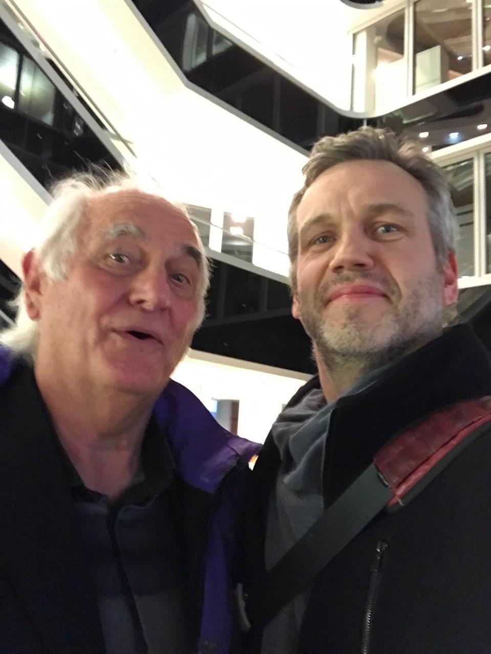 Michael Conrad og Egil Alv Andreassen.