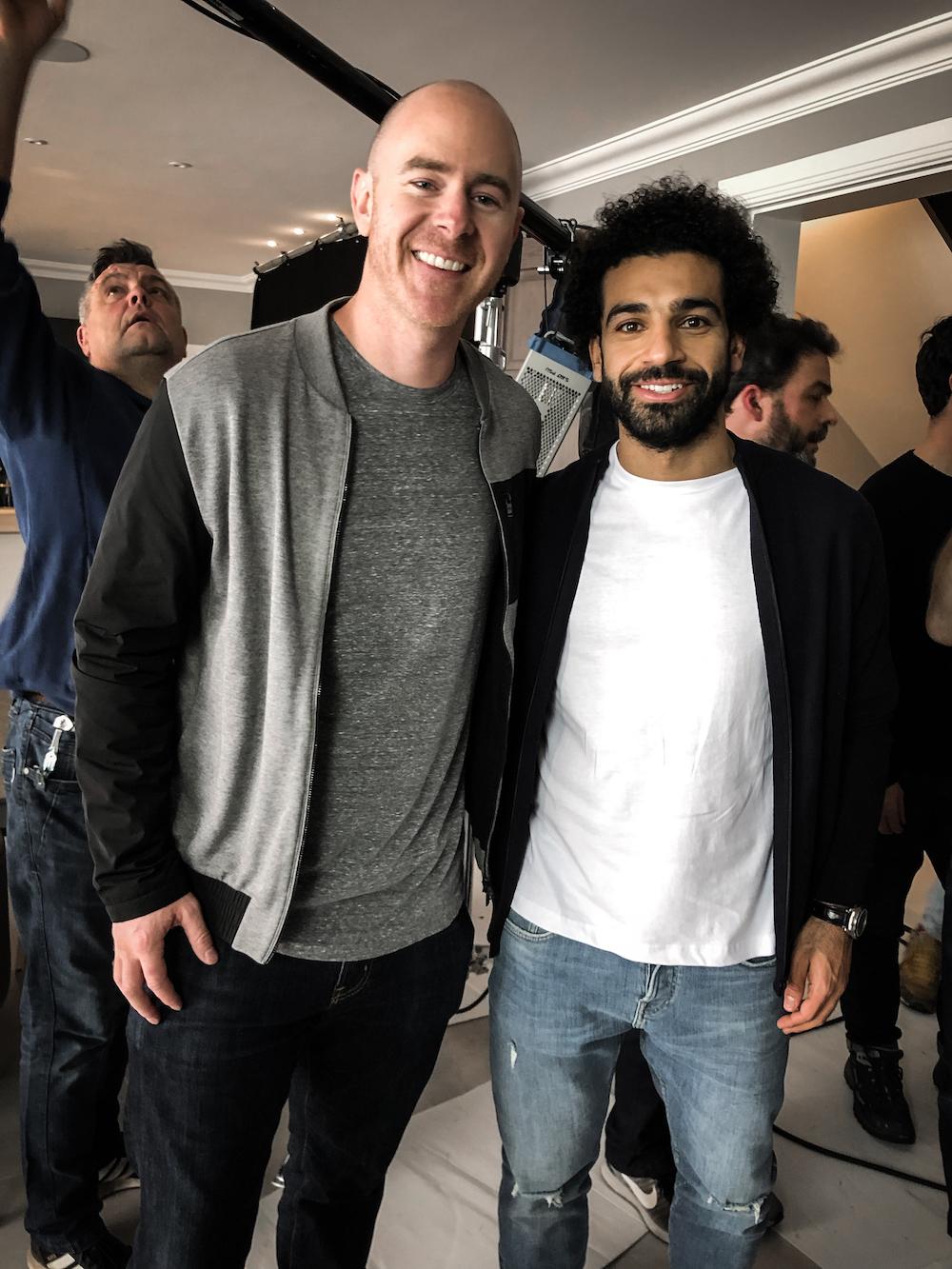 Martin Rodahl og Mohamed Salah.