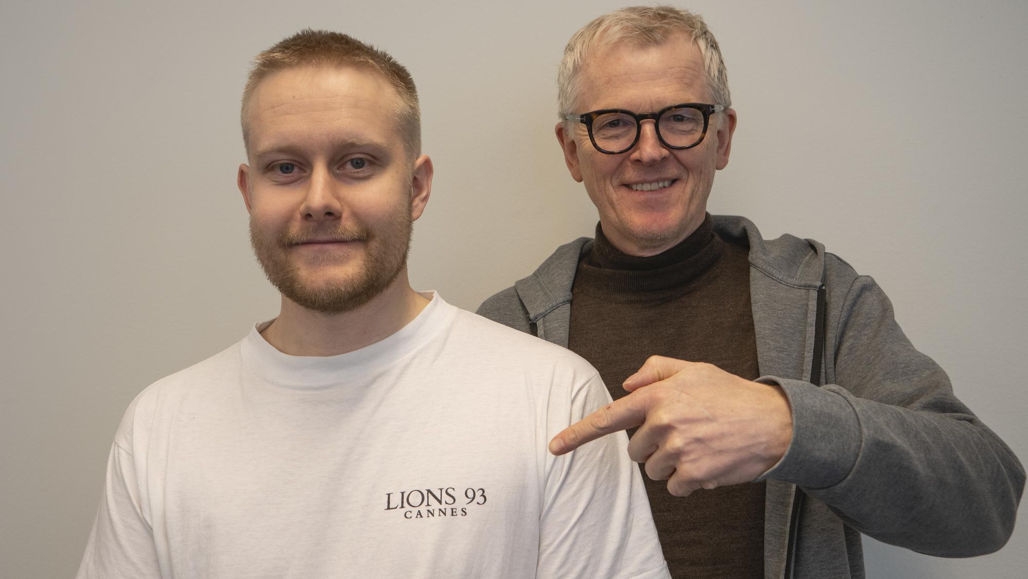 Martin og Thorbjørn.