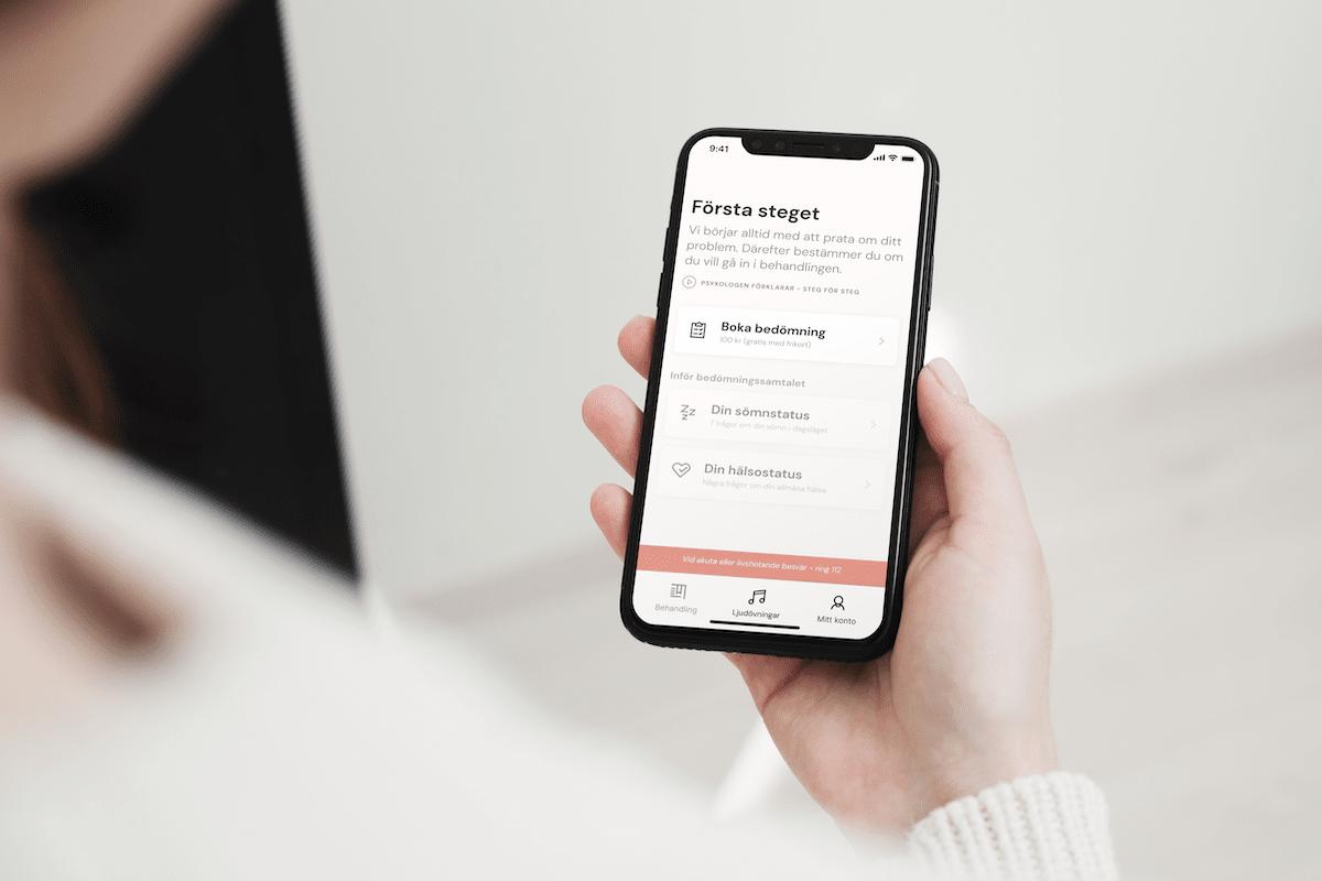 Learning to sleep app bank-id