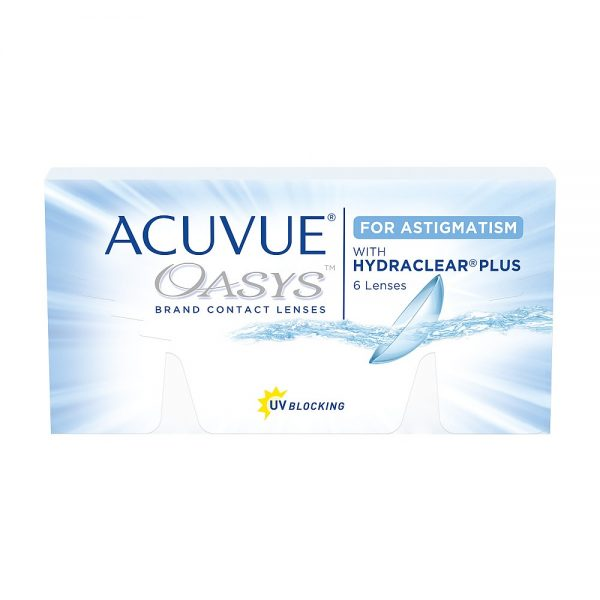 Acuvue Oasys For Astigmatism, 6-pk