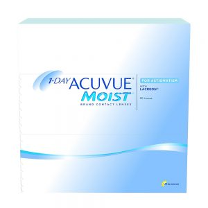 1-Day Acuvue Moist For Astigmatism, 90-pk
