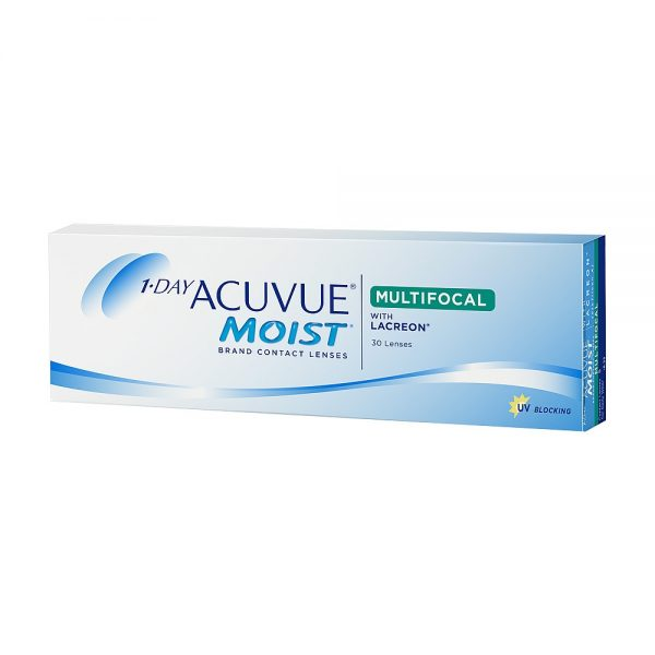 1-Day Acuvue Moist Multifocal, 30-pk