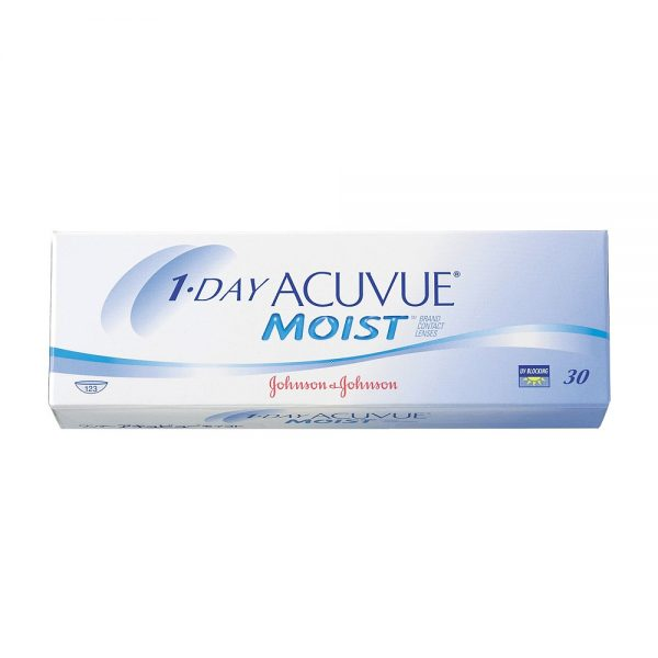 1-Day Acuvue Moist, 30-pk