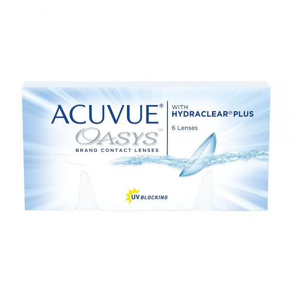 Acuvue Oasys With Hydraclear Plus, 6-pk