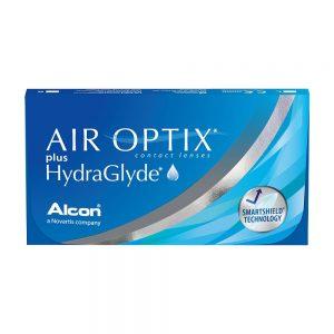 Air Optix Plus Hydraglyde, 6-pk