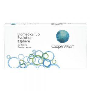 Biomedics 55 Evolution, 6-pk