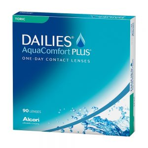 DAILIES AquaComfort Plus Toric, 90-pk
