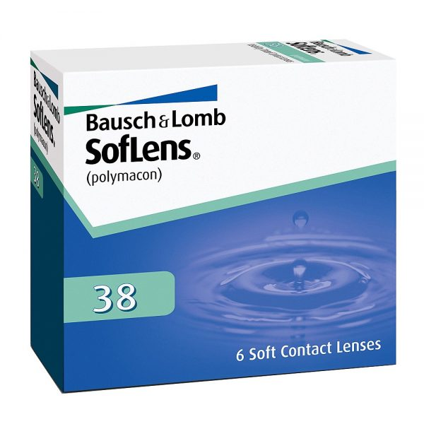 SofLens 38, 6-pk