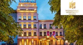 The Swiss hotel is included in the list of the best hotels in the world according to the International Hospitality Awards