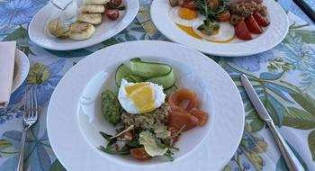 Breakfast in Valentino restaurant