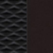 Juoda dalinė odinė apdaila, dalinė salono apdaila iš audinio, monoformos sėdynės