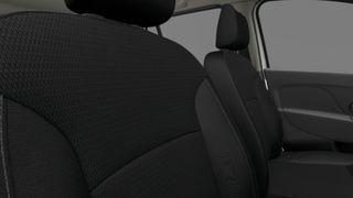 Mustad tekstiilist istmekatted
