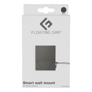 Floating Grip Xbox One X Wall Mount (Black)