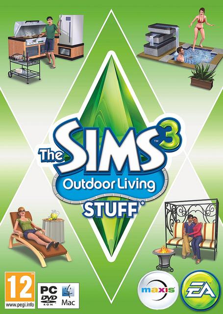 Sims 3: Outdoor Living Stuff (Fi)