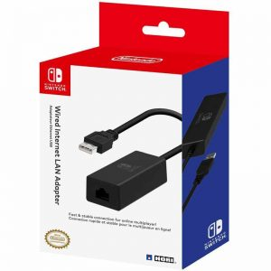 HORI Officially Licensed LAN Adaptor /Switch