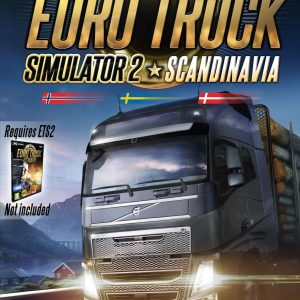 Euro Truck Simulator 2 - Scandinavia (Nordic Boxed version)