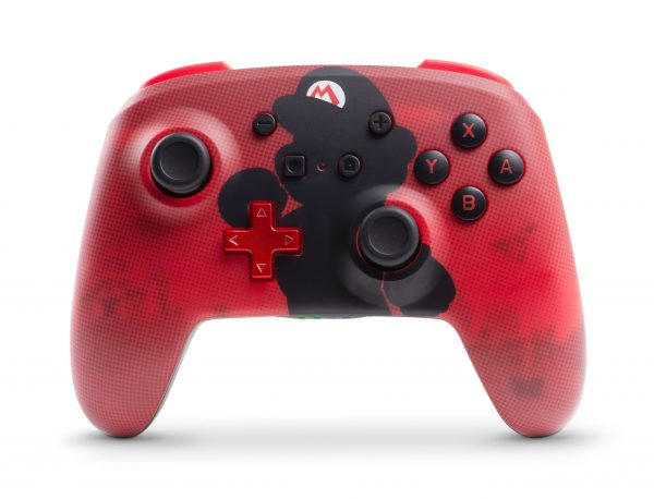 PowerA Enhanced Wireless Controller - Mario Silhouette