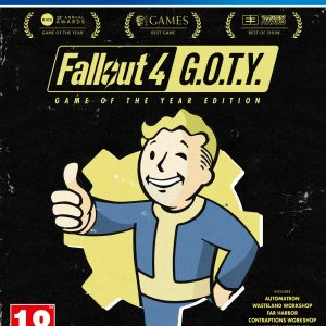 Fallout 4 (Game of the year)