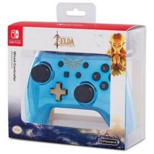 PowerA Controller Chrome - Blue Zelda