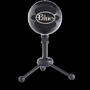 Blue - Microphone Snowball Gloss Black
