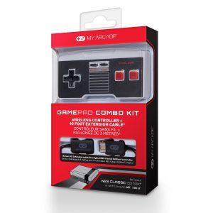My Arcade Classic NES Controller Combo Kit
