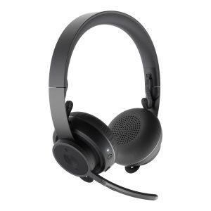 Logitech - Zone Wireless Teams Bluetooth headset - GRAPHITE