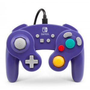 PowerA Controller Gamecube Style Purple